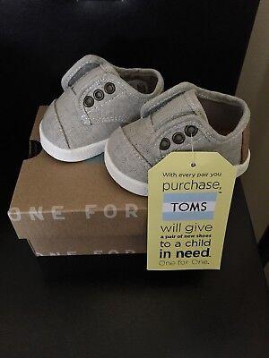 Size 2 Tiny Toms Paseo Shoes | eBay