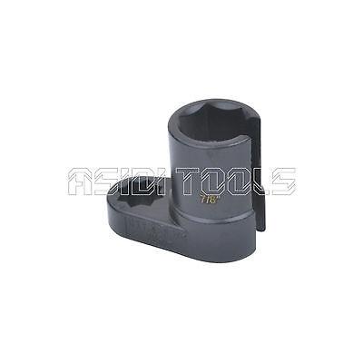 """7//8/"""" 22mm Offset Flare Nut Oxygen Sensor Socket 6 Points Vacuum Switch 1//2/"""" DR"""