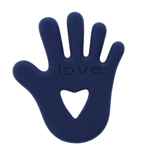 Creative Silicone Baby Hand Shape Teether Baby Chewable Teething Toy Jian