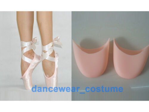NEW Women/'s Professional Satin Ballet Dance Pointe Shoes Silicone Gel Toe Pads