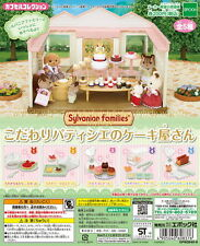Sylvanian Families Cake Shop In Pastry FOOD ONLY 5pcs - Epoch Gashapon  , h#9