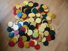 Antique Catalin Bakelite Gambling Poker Chips 175 count