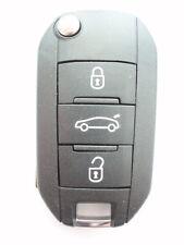 Ricambio 3 pulsanti aletta caso chiave per Peugeot 508 5008 chiave a distanza