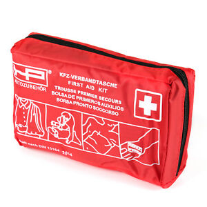 KFZ Auto Verbandtasche Erstehilfe  Verbandskasten Unfall Erste Hilfe DIN 13164