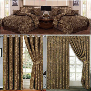 Image Is Loading Jacquard 7Pc Comforter Set Choclte Quilted Quilt Bedspread