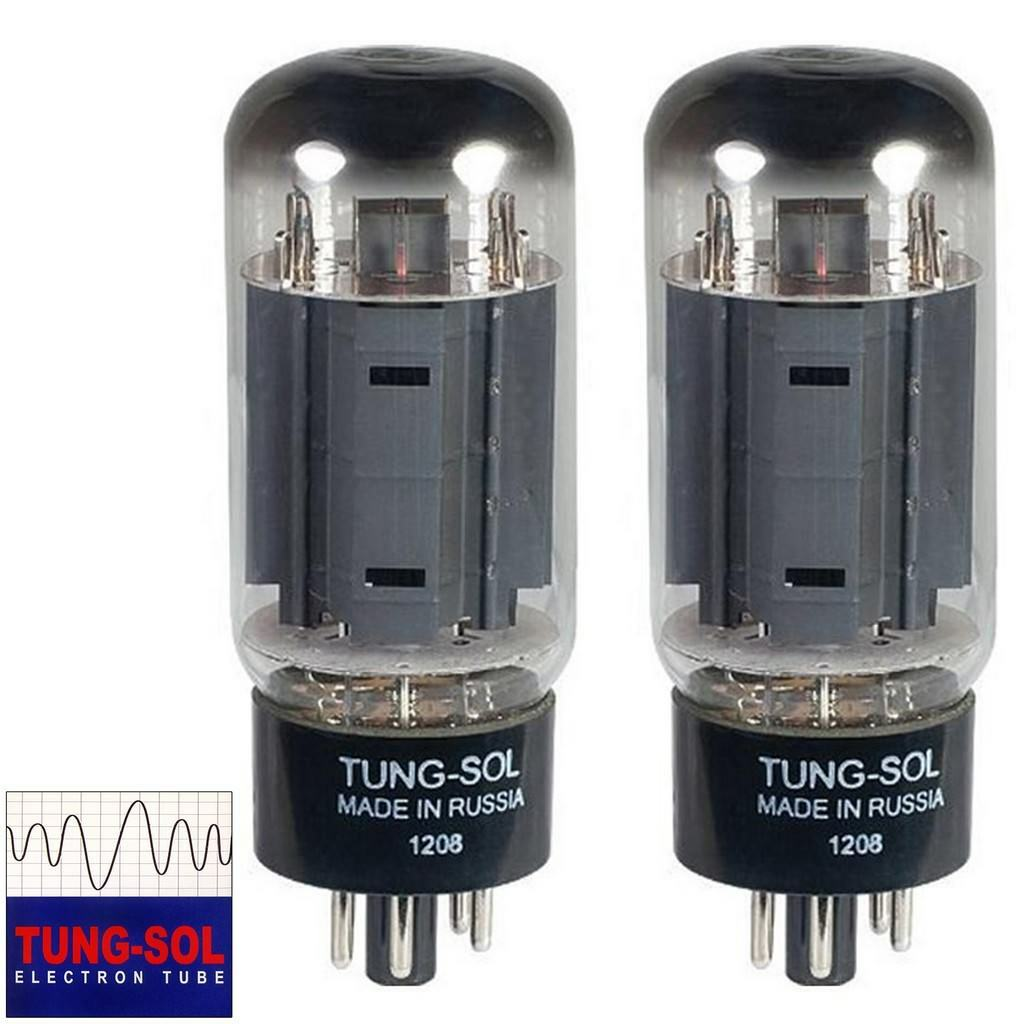 Brand New Tung-Sol Reissue 7581A KT66 Current Matched Pair (2) Vacuum Tubes