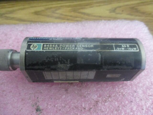 Hewlett Packard Model: 8484A Power Sensor. 50Ω, .3nW - 10uW <