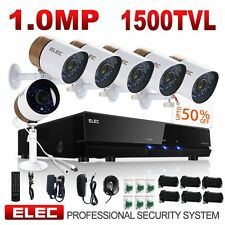 ELEC 8CH 960H HDMI DVR 1500TVL 6* IR CCTV Video Home Security Camera System