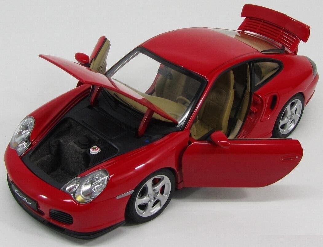 Ven a elegir tu propio estilo deportivo. 1 1 1 18 Autoart performance Porsche 911 (996) Turbo rojo rojo, 77831, nuevo & OVP  hasta un 65% de descuento