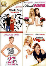 Whats Your Number/Bride Wars/27 Dresses/What Happens in Vegas (DVD 4-Disc Set)