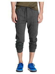 Polo-Ralph-Lauren-Mens-Big-amp-Tall-Estate-Ribbed-Jogger-Pants-Sweatpants-Gray-5XB