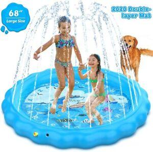 Swimming Pool Inflatable Outdoor Pools For Kids Toddler Yard Backyard Swim Ring Ebay