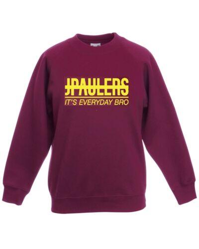 J PAULERS its everyday bro Sweatshirt Jumper youtube jake paul logan team 10