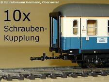 Märklin H0 7204 10x Schrauben Kupplung starre/starr/feste Verbindung NEM NEU 192