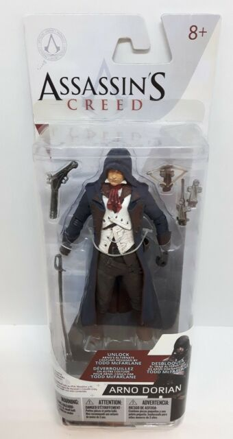 Arno Dorian Assassins Creed Series 3 (Mcfarlane Toys) Action Figure NFS