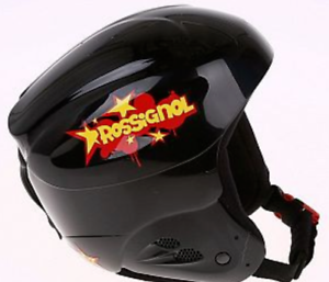 Rossignol Radical Compl J Black Ski Snowboard Helmet size 52 54 56cm Black