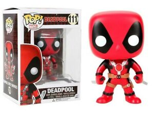 Marvel #111 Vinyl Figur Funko Deadpool Two Swords POP