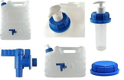 10l drinking water container with soap dispenser and tap