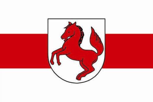 Aufkleber Schortens Flagge Fahne 12 x 8 cm Autoaufkleber Sticker
