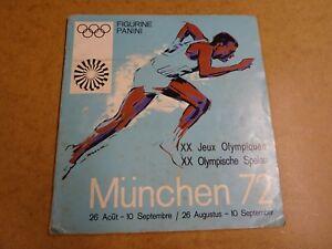 PANINI-ALBUM-JEUX-OLYMPIQUES-OLYMPISCHE-SPELEN-MUNCHEN-72