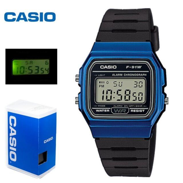 ebc989ae7c92 Reloj Casio retro digital F-91WM-2AEF UNISEX WATCHES CASIO f-91wm-