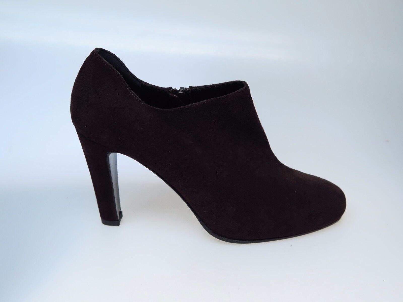 Sultana Italy zapatos señora botines botas de cuero n4257 Amber marrón nuevo