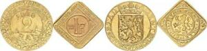 Gent - Belgien Set 2 + 1 Franken Notgeld 1918 und 1915 60339