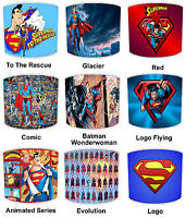 Lampshades Ideal To Match Superman Wallpaper Superman Duvets & Superman Wall Art