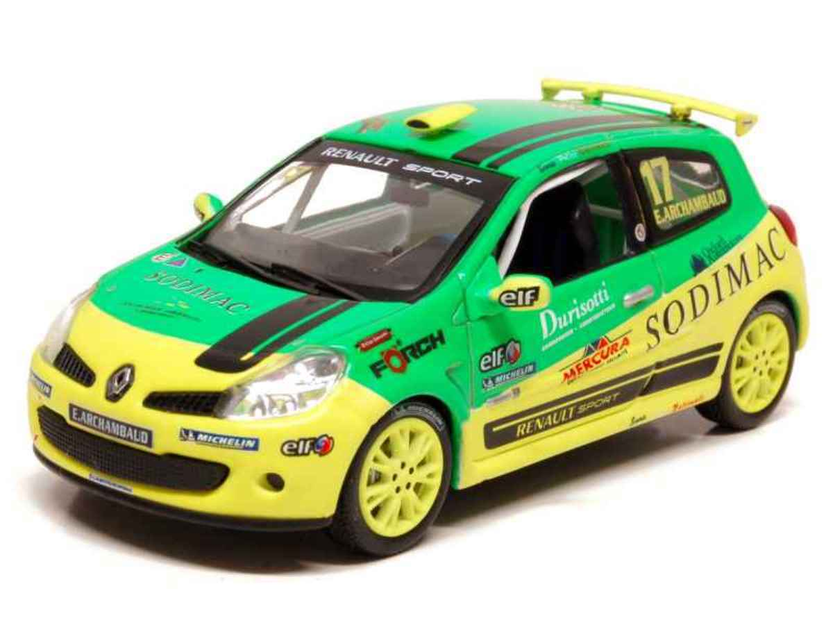 RENAULT CLIO III RS CUP  17 ASAMI 2008 ARCHAMBAUD NOREV 1 43 7711425941