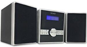 Cd Player Hi Fi Music Micro System Denver Mca 230 Fm Radio