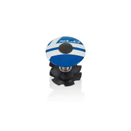 "XLC A-Head Plug Kralle AP-S01 Alu 1 1//8/"" blau Fahrrad"