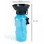 Borraccia-portatile-per-cane-gatto-animali-acqua-400ML-ciotola-viaggio-dispenser miniatura 9