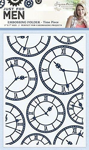 Crafter/'s Companion Embossing Folder Time Piece S-MEN-EF5-TIME