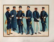 US Navy Uniform Captain Commander Kadett Rank Säbel Mütze Epaulette Major USA