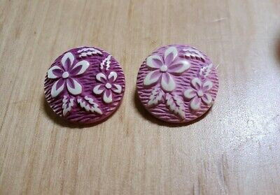 Celluloid Jewelry Vintage Button Bracelet Celluloid Button Bracelet Purple Buttons Button Assembly Grape Soda-Purple Button Bracelet