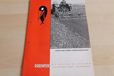 Rabewerk Dreipunkt Vibrationseggen Prospekt 05/1968 Products Hot Sale Sales Brochures Loyal 144447