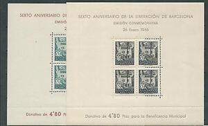 1945-RARAS-HOJITAS-EDIFIL-N-NE-27-28-NUEVAS