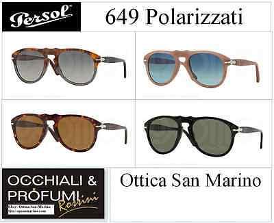 OCCHIALI DA SOLE PERSOL MODELLO: 649- COLORI DIVERSI, TUTTE POLARIZZATE
