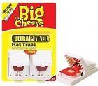 Big Cheese Ultra Power Rat Trap Rodent Killer Traps Pk2 Stv149