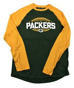 NFL-Mens-Green-Bay-Packers-Football-Shirt-New-M-L-XL-3XL