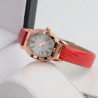 HOT    Quartz Women  Watch Leather Strap Dress Watches Rhinestone Wristwatches