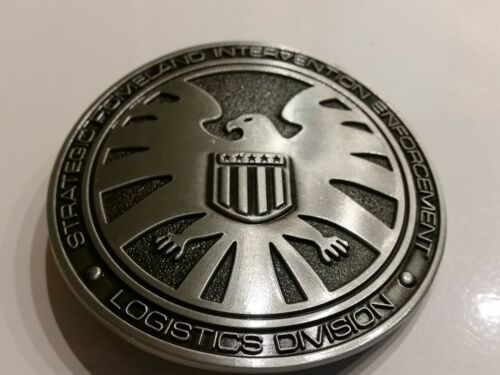 2 buckles Marvel Comics Agents of SHIELD and HYDRA Logo Collectible Avengers