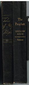 Set-of-2-Sholem-Asch-Vol-1955-1948-Rare-Vintage-Books