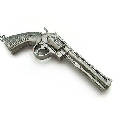 New Smith & Wesson Revolver Miniature Pistol Gun metal model Keychain ring Gifts