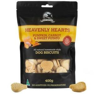 Pumpkin-carrot-and-sweet-potato-400g-Heart-Shaped-Dog-Biscuit