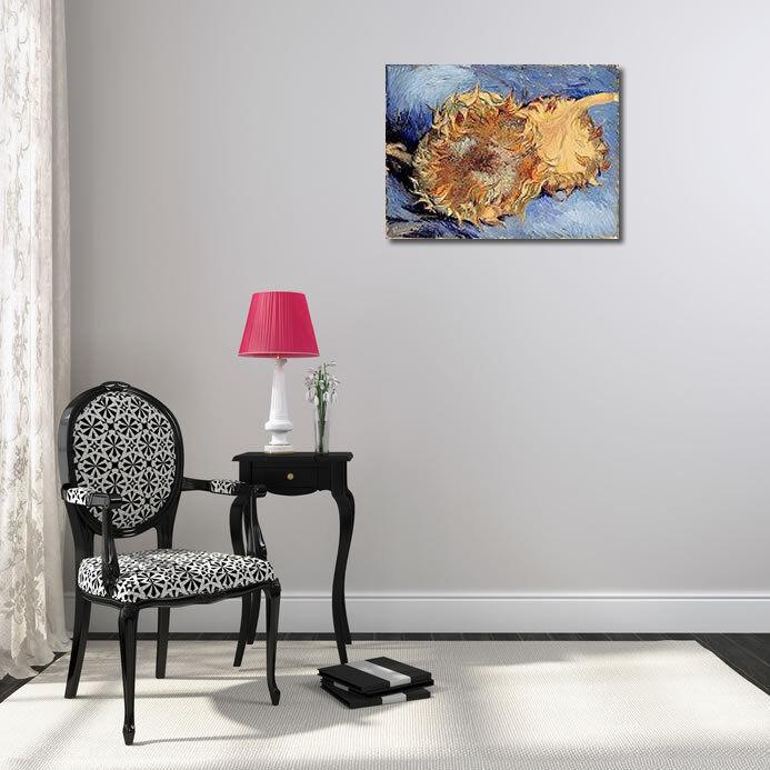 Vincent Van Gogh  tournesols tournesols tournesols telaio-Immagine Tela GIRASOLE FIORI bcc387