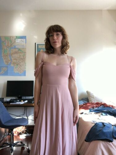 REFORMATION Bridesmaid Dress (Small) in Dusty Rose