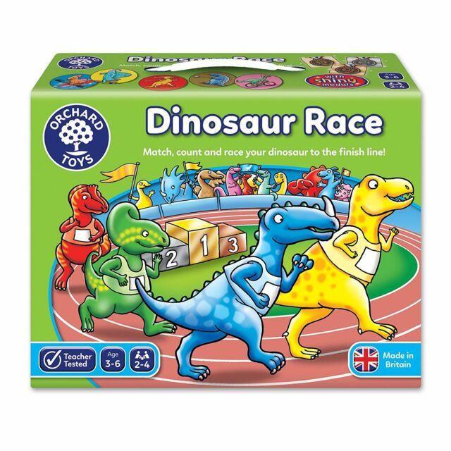 Orchard Toys Dinosaure Course (Couleurs Assortis)