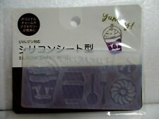Japanese Soft Mold for Uv Resin Silicone mold Charm 4kind SET