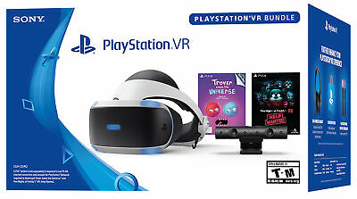 Bescheiden Ps4 Psvr Headset-playstation Vr Trover Saves The Universe + Five Nights Ps4 New
